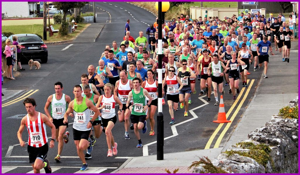 Headford8k 2018 gets underway!